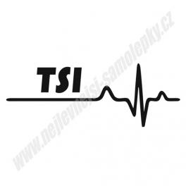 Samolepka TSI Ekg
