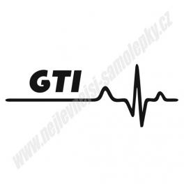 Samolepka GTI Ekg
