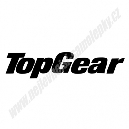 Samolepka TopGear