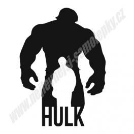 Samolepka Incredible Hulk
