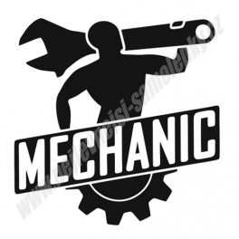 Samolepka Mechanic