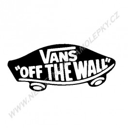 Samolepka Vans OFF THE Wall