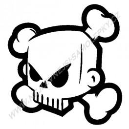 Samolepka Ken Block Skull