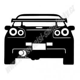 Samolepka Nissan Skyline