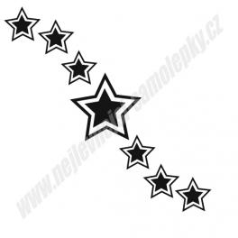 Samolepky Hvězdy (sada)