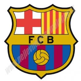 Samolepka na zeď Barcelona FC