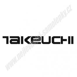 Samolepka Takeuchi