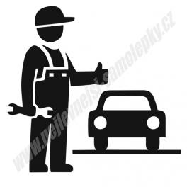 Samolepka Automechanik