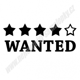 Samolepka Wanted
