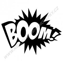 Samolepka Boom!