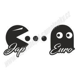 Samolepka Japan Eat Euro