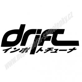 Samolepka Drift Japan