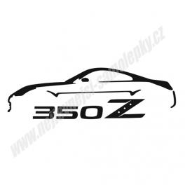 Samolepka Nissan 350Z