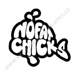 Samolepka No Fat Chicks