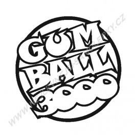 Samolepka Gum Ball 3000