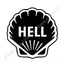 Samolepka Hell