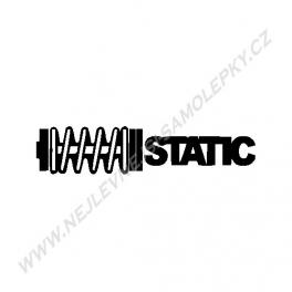 Samolepka Static