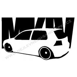 Samolepka Golf MK IV
