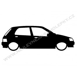 Samolepka Peugeot 106 Low