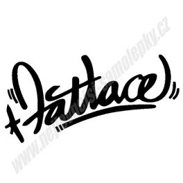 Samolepka Fatlace Cool
