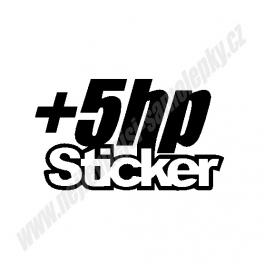 Samolepka +5HP Sticker