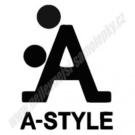 Samolepka A-style