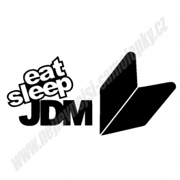 Samolepka Eat Sleep JDM