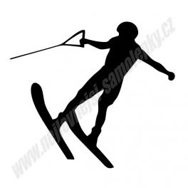 Samolepka Vodní lyže