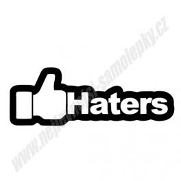 Samolepka Like Haters