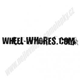 Samolepka Wheel-Whores.com