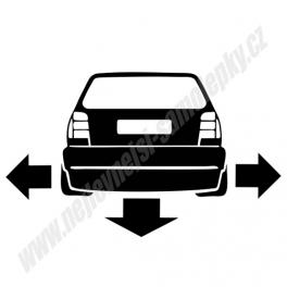 Samolepka VW Polo Low