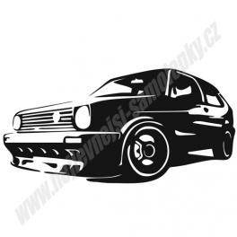 Samolepka VW Golf II