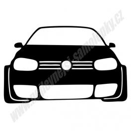 Samolepka VW Golf IV GTI