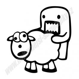 Samolepka Sheep fuck JDM