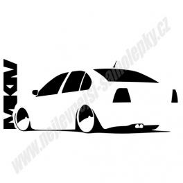 Samolepka VW Bora MK IV