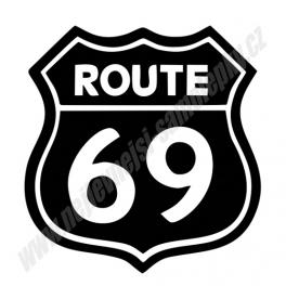 Samolepka Route 69