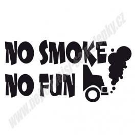 Samolepka No Smoke No Fun