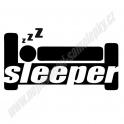Samolepka JDM Sleeper