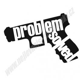 Samolepka Problem Solved