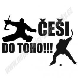 Samolepka ČEŠI DO TOHO!!!