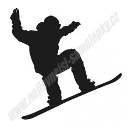 Samolepka Snowboard