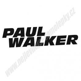 Samolepka Paul Walker