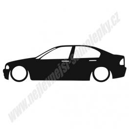 Samolepka BMW 3 e46 Low