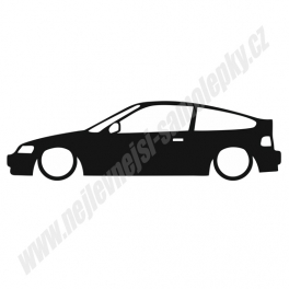 Samolepka Honda CRX Low