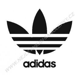 Samolepka Adidas logo