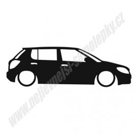 Samolepka Škoda Fabia MK2 Low