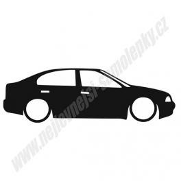 Samolepka Škoda Octavia Low