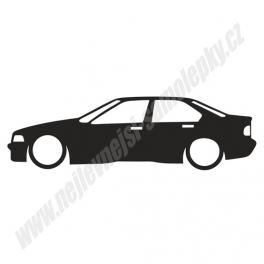 Samolepka BMW 3 e36 Low