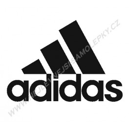 Samolepka Adidas logo Klasické
