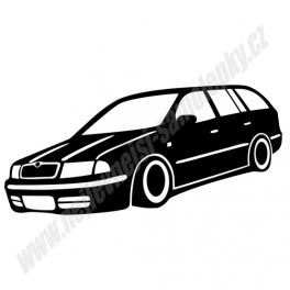 Samolepka Škoda Octavia Combi